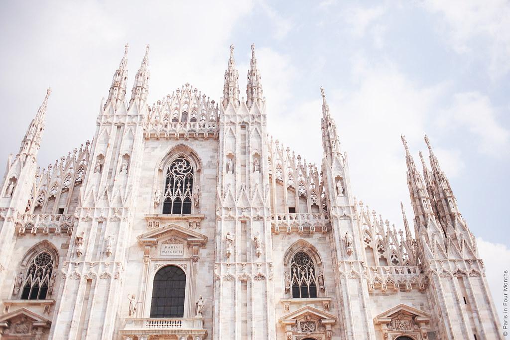 The Beautiful Duomo in Milan