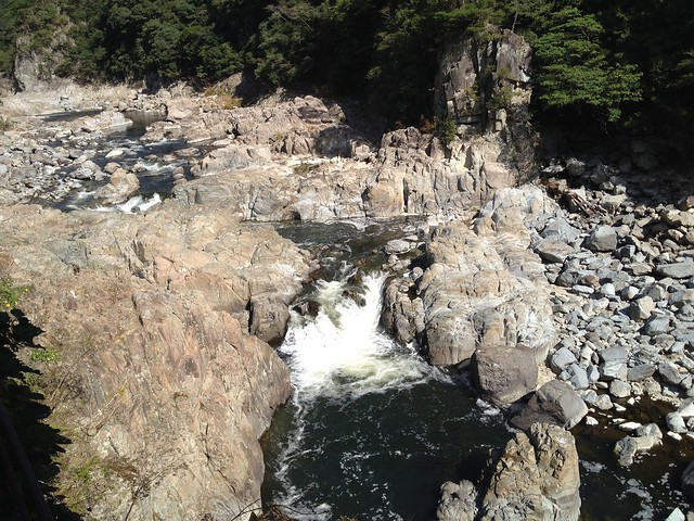 旧福知山線廃線跡-渓谷滝
