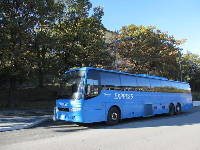Västtrafik Express-buss! Här! What?!
