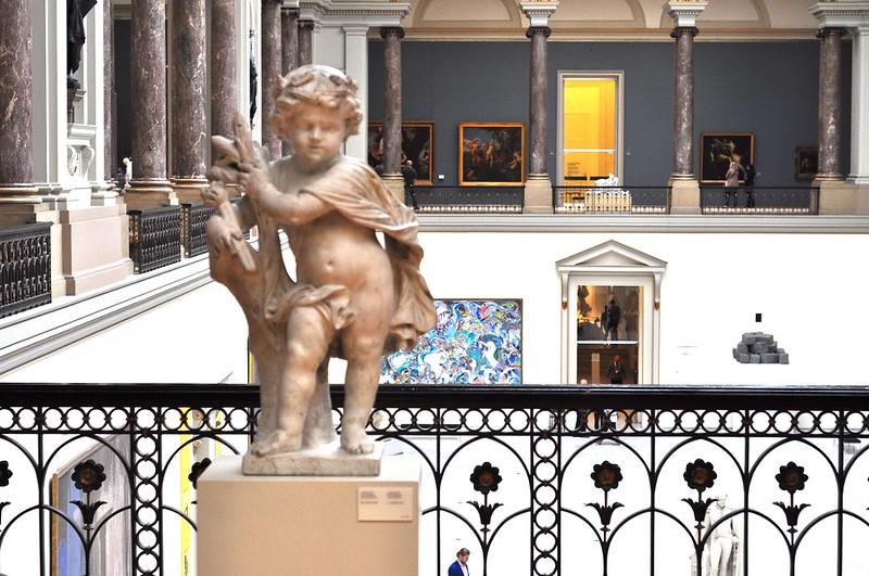inside the Royal Museum of Fine Arts Belgium