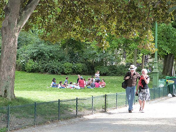 balade au parc monceau