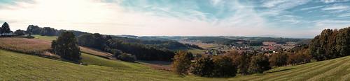 Panorama Neusiedl bei Güssing
