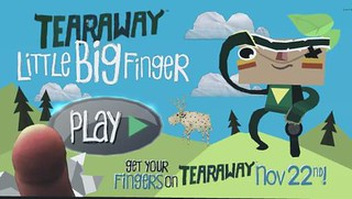 Tearaway Little Big Finger Screenshot