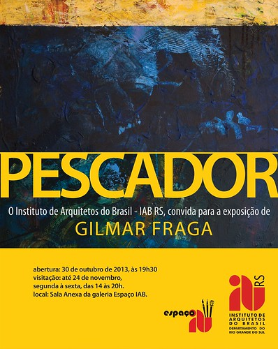 CONVITE EXPOSIÇÃO by Fragadesenhos