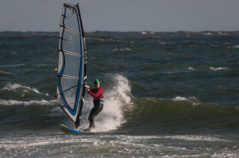 Cupsogue wave sailing Oct 25th 2013