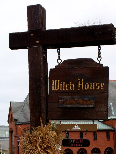 Witch House Sign