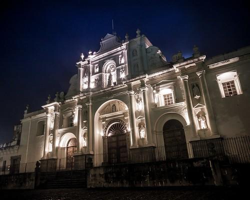 Fachada Catedral Antigueña