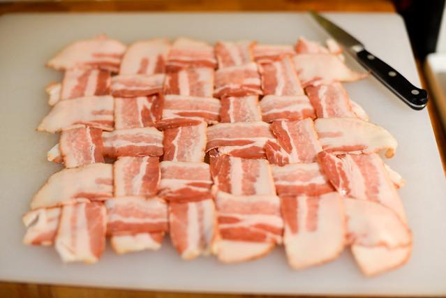 Bacon-wrapped Stuffed Turkey Breast