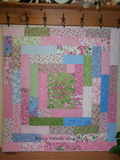 Dogwood Trails Lap Quilt