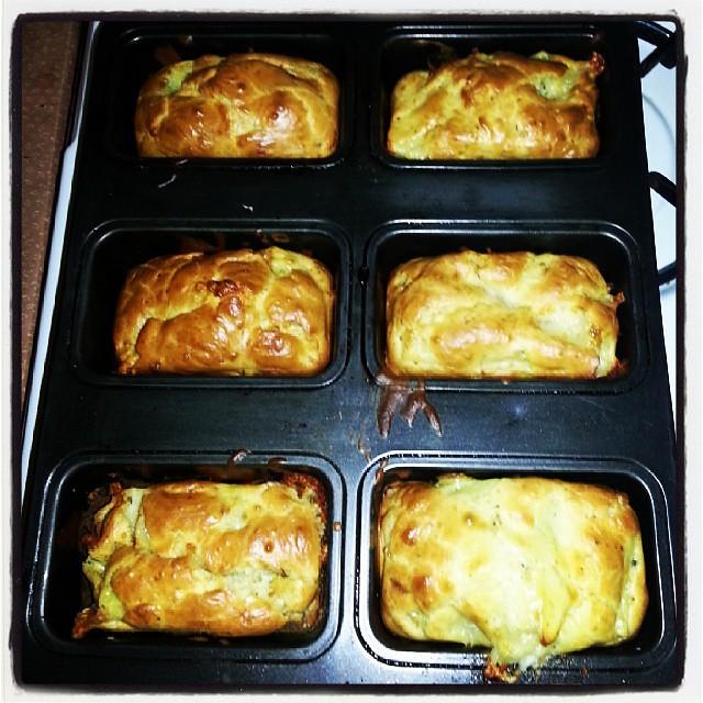 ★ se soir c'est cake lardon courgettes/tomates ★#cuisine #cake #ourlittlefamily #france