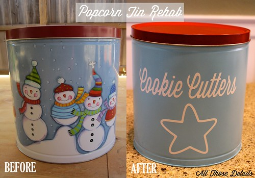 Popcorn Tin Before After