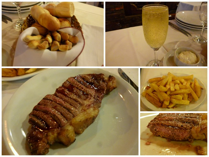 A nice meal in Buenos Aires