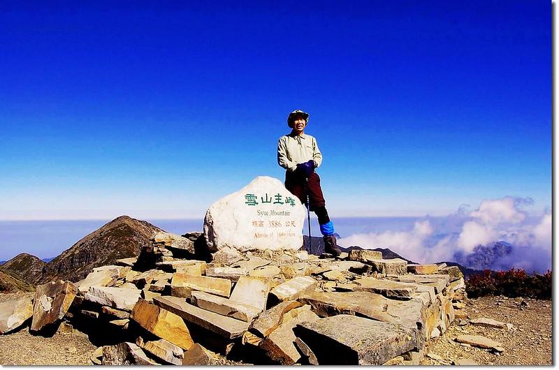 雪山頂(Elev. 3886 m) 2