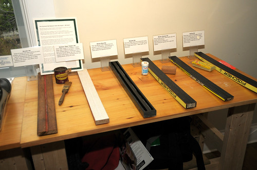 Display of historical XC ski base
