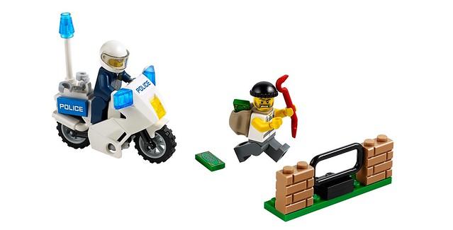 LEGO City 60041 - Crook Pursuit