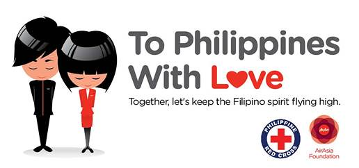 AirAsia offers assistance to Philippines typhoon victims with #toPHwithlove campaign - Alvinology