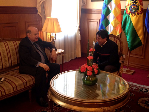 OAS Secretary General Meets with Foreign Minister of Bolivia