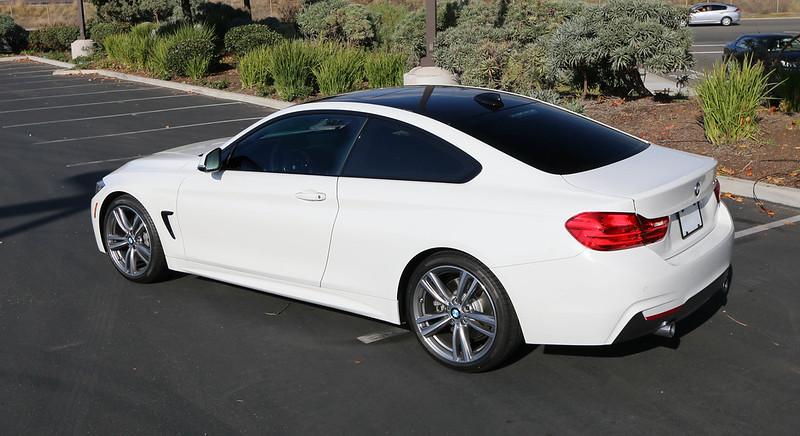 BMW 430d - M Sport - Alpinweiss [Présentation] - Série 4 ...