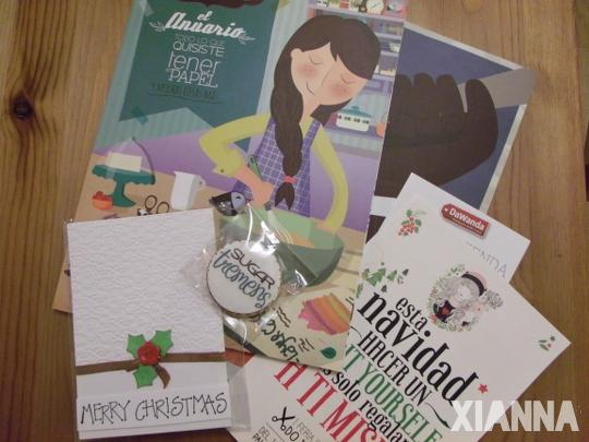 DIY Show Christmas Edition - Sugar Tremens, Tarjeteria Solidaria, DaWanda