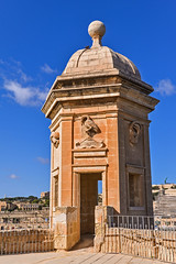 Lookout Tower At Senglea.