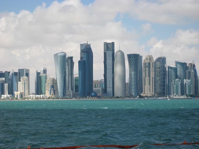 Doha, Qatar by CC user paultraf on Flickr