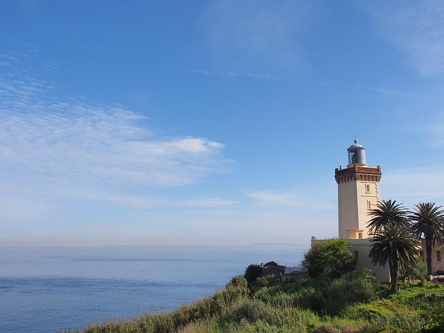 Cap Spartel上的燈塔