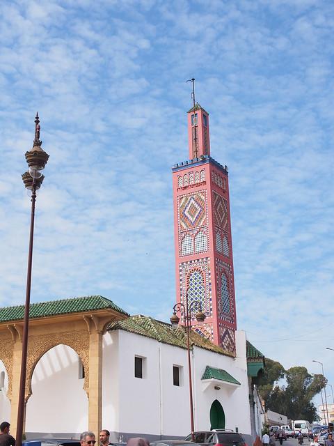 Grand Socco旁的Tangier Grand Mosque