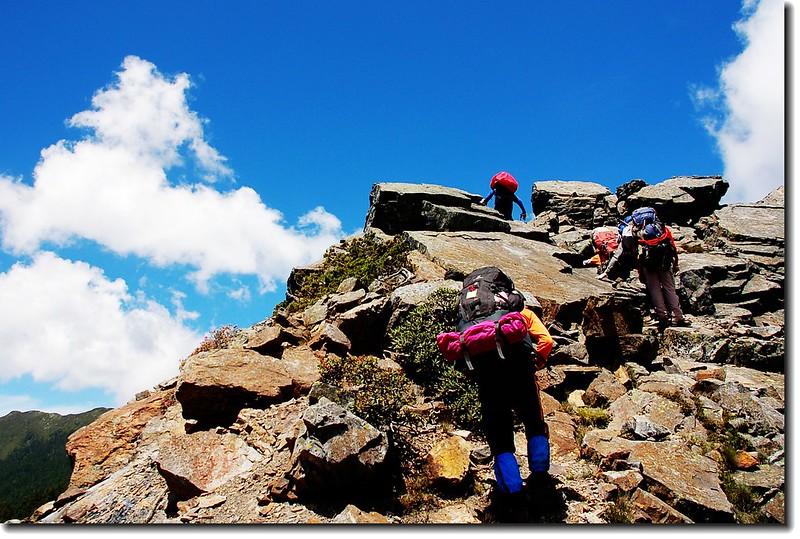 攀登素密達山 1