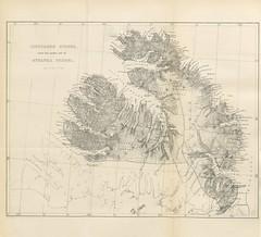 """British Library digitised image from page 598 of """"Bidrag til en historisk-topografisk Beskrivelse af Island ved P. E. Kristian Kålund ... Med ... litograferede Kort. Udgivet af Kommissionen for det arnamagnæanske Legat"""""""
