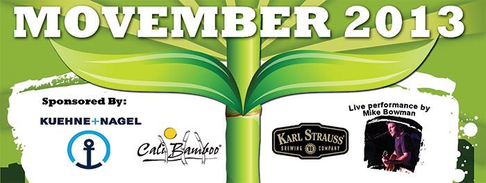Cali Bamboo Supports Movember 2013