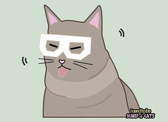 Skifcha the Hipster Dubstep Cat