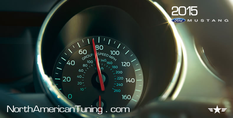 2015 Ford Mustang Unveiling Gauges