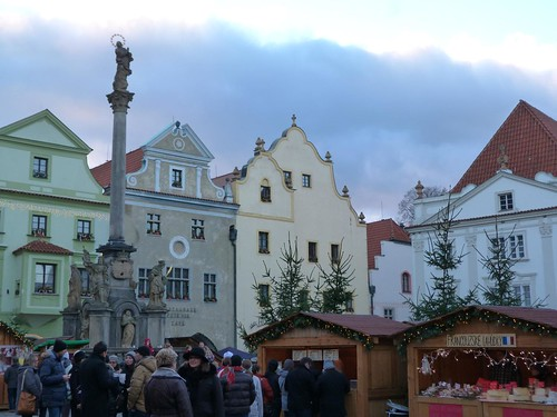 Plaza de Cesky Krumlov