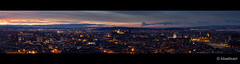 Another one from Salisbury Crags looking Edinburgh with the Christmas lights.  This one is huge as 5 shots stitched together in PS.  I would love to see this printed big and would get one done myself if I had somewhere to put it.....