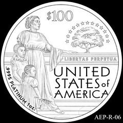 2014 American Eagle Platinum design AEP_R_06