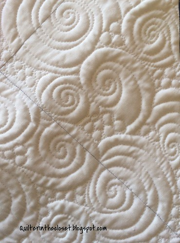 Seafoam quilting design