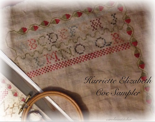 Harriette Elizabeth Coe Sampler