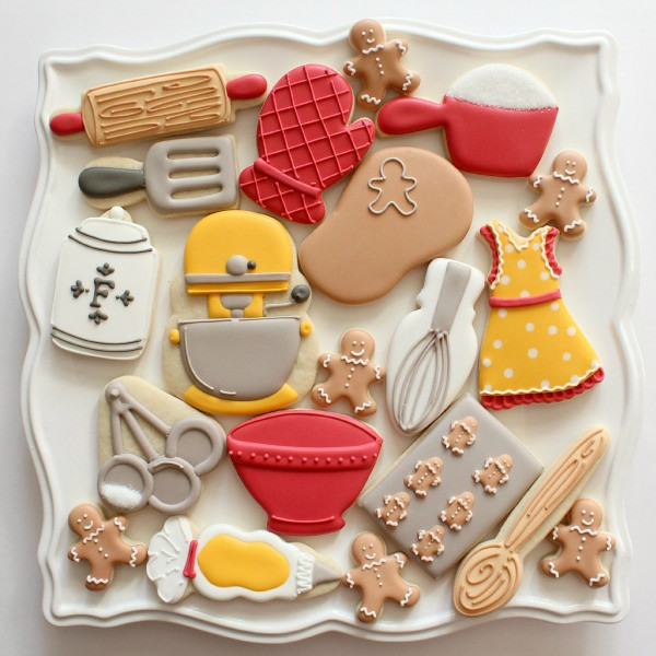 Baking Theme Cookies by SweetSugarBelle, on Flickr