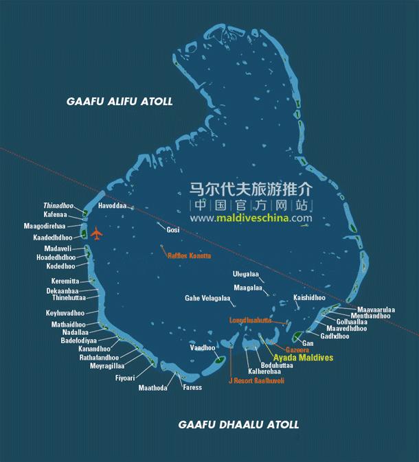 马尔代夫Gaafu Dhaalu环礁