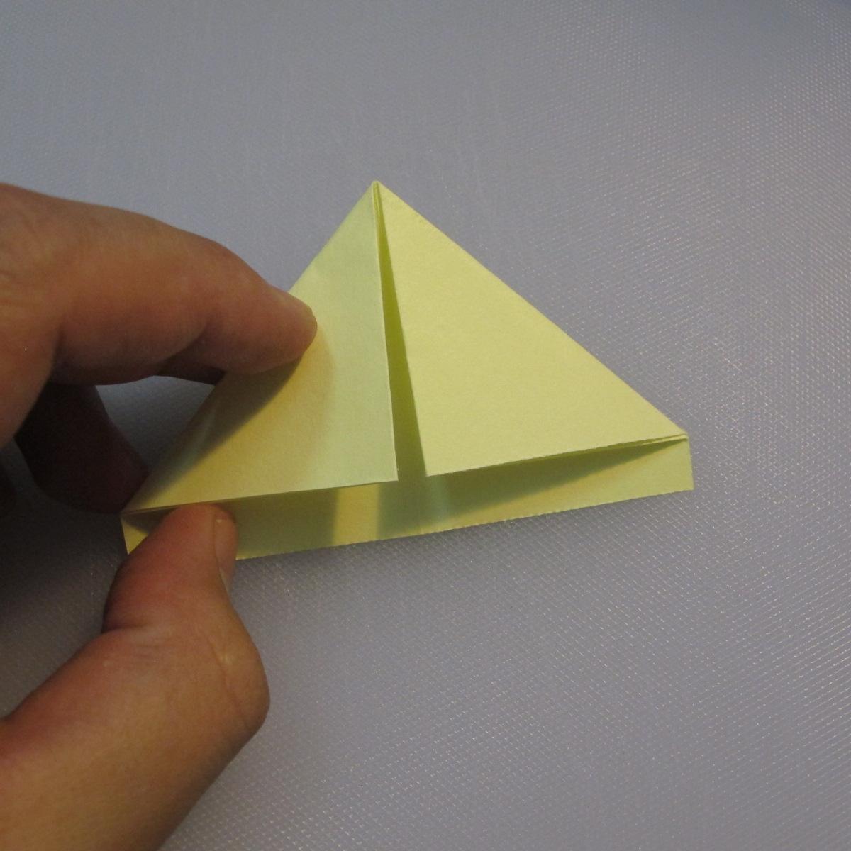 การพับกระดาษเป็นรูปเรือใบ (Origami Boat – 船の折り紙) 003