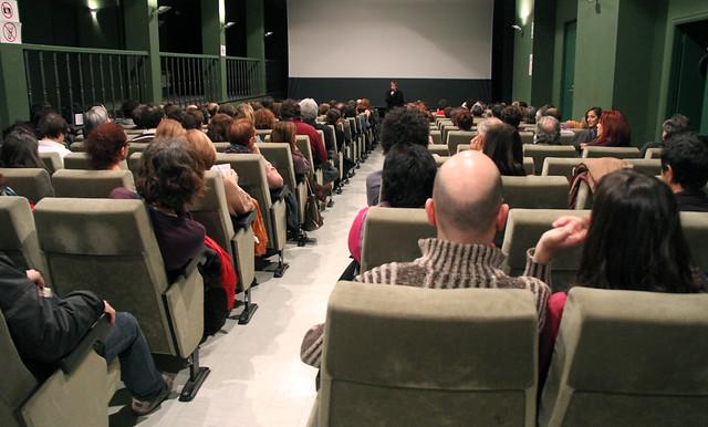 PRESENTACIÓN DEL PROYECTO AUDIOVISUAL DE PAUL GARNIER Y ALBERTO TAIBO - TEATRO EL ALBÉITAR 20.12.13