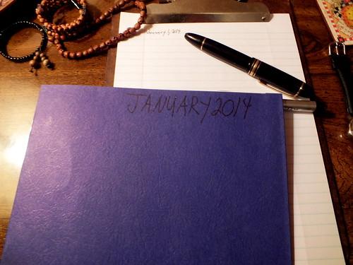 January 2014 Diary