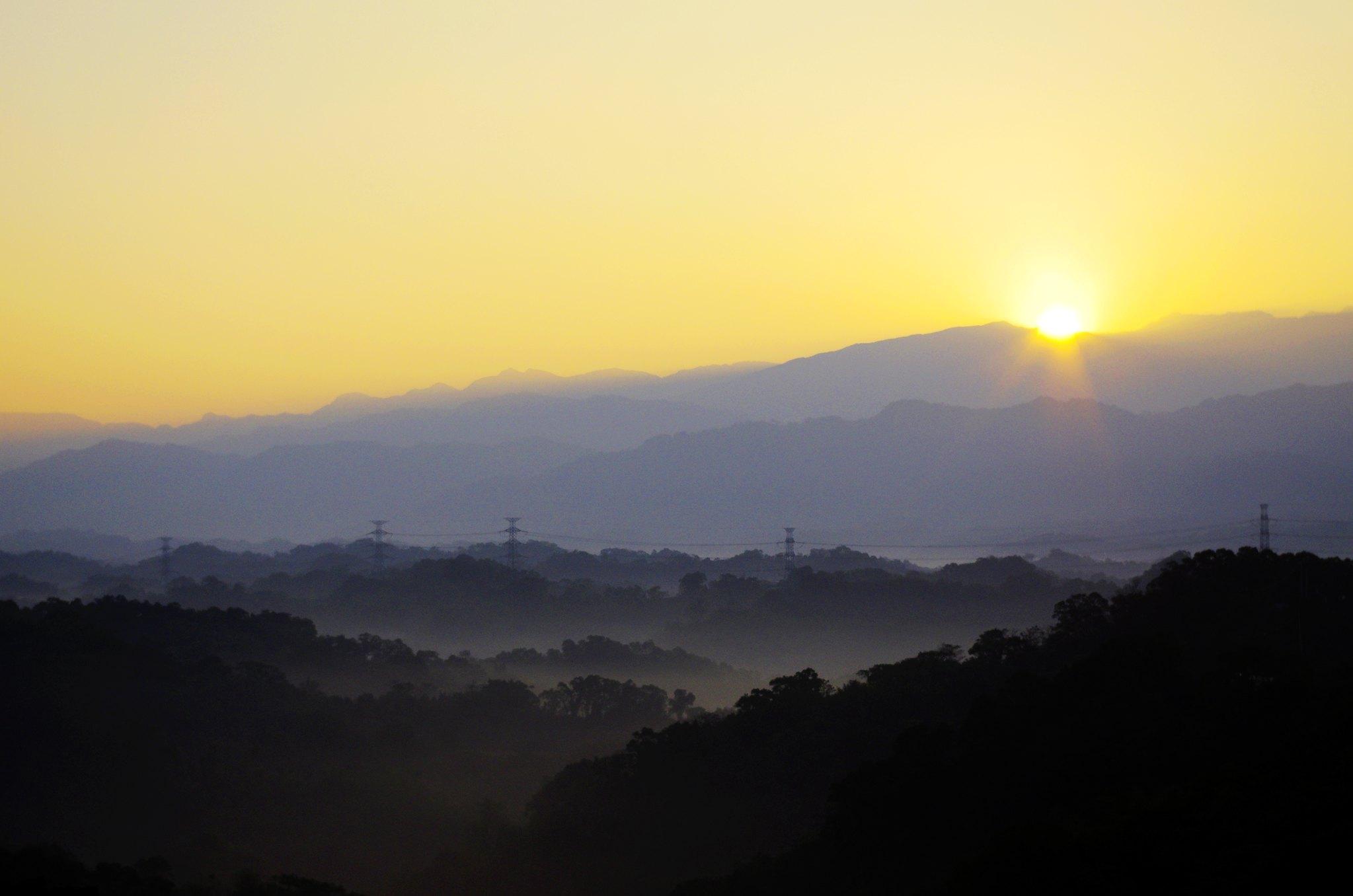 2014第一個日出與日落~