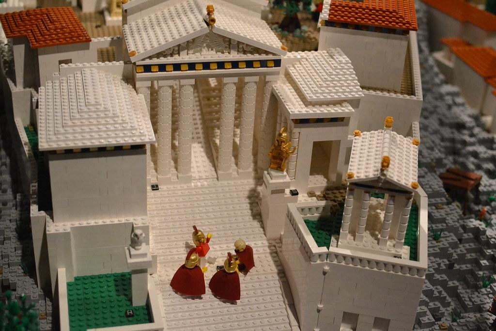 Lego Acropolis at Usyd