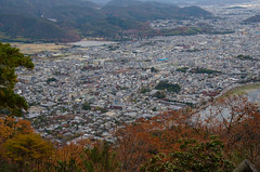 The view from Matsuoyama in Autumn, Kyoto / 秋の松尾山にて(京都)
