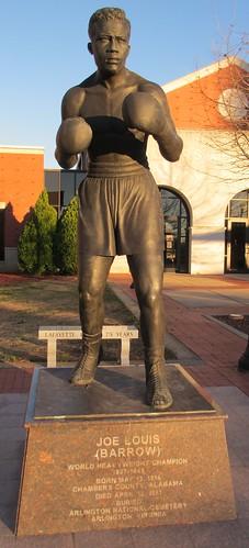 Joe Louis Statue (LaFayette, Alabama)