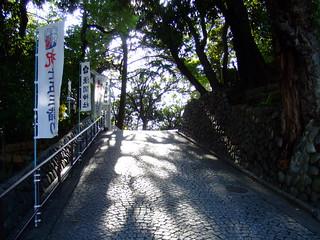 多摩川浅間神社・石段