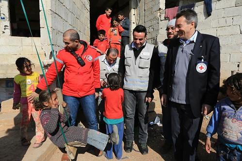 Peter Maurer in Syria