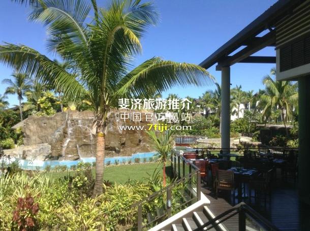 雷迪森布鲁度假酒店瀑布泳池