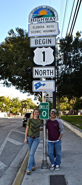 Key West, Florida- Bike Tour - zero mile marker highway 1